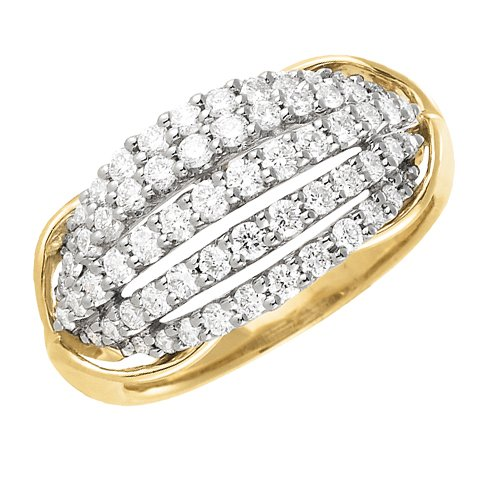 114k Gold Diamond (1 ct.tw) Ring
