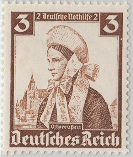 [Postage Stamp Mail Germany Regional Costumes East Prussian 1935 Scott B69] (Postage Stamp Costume)
