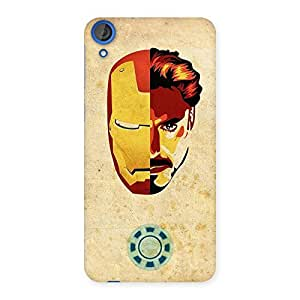 Ajay Enterprises Real Genius Pwer Back Case Cover for HTC Desire 820