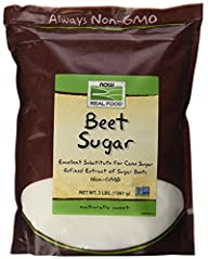 Now Foods Beet Sugar, 3 Pound