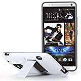 HTC One Max Case - Poetic HTC One Max Case [Invictus Series] - [Lightweight] [Hybrid Protection] Protective Hybrid Case for HTC One Max White/Gray (3 Year Manufacturer Warranty From Poetic)