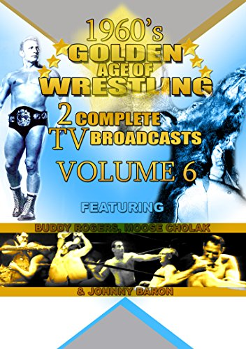 60s Golden Age Wrestling 2 TV Broadcasts Vol 6