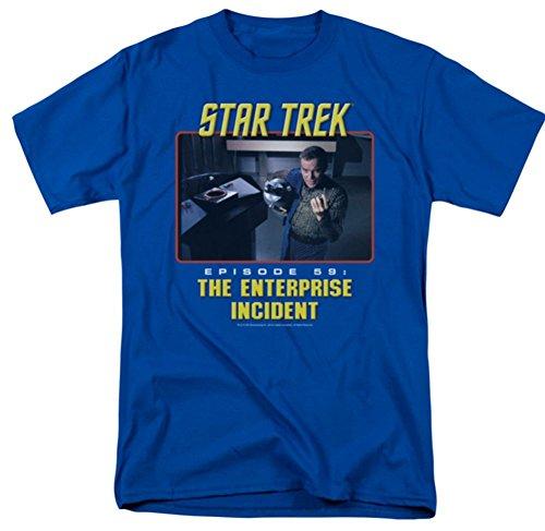 The Enterprise Incident Star Trek The Original Series T-Shirt CBS280