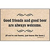 High Cotton Good Friends Good Beer Mat