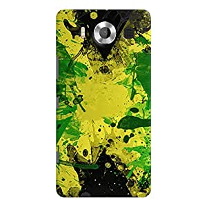 ColourCrust Microsoft Lumia 950 Mobile Phone Back Cover With Colourful Art - Durable Matte Finish Hard Plastic Slim Case