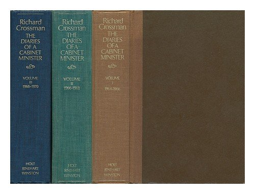 The Diaries of a Cabinet Minister - Complete in Three Volumes