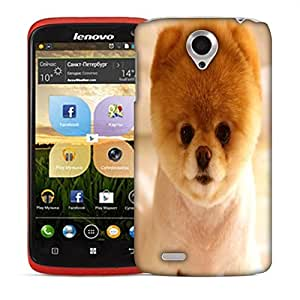 Snoogg Cute Puppy Designer Protective Back Case Cover For LENOVO S820