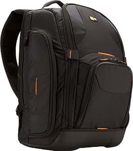 """Case Logic SLRC206 Sac à dos semi-rigide pour appareil photo réflex et Ordinateur portable 16"""" Noir"""