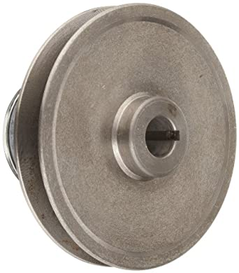 "Lovejoy 5015 Econoline Spring Pulley, 1"" Bore, 1/4 x 1/8"" Keyway, 54 inch-pounds Torque Capacity, 5"" OD, 3.5"" Overall Length"