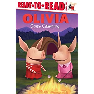 OLIVIA Goes Camping (Olivia Ready-to-Read)