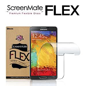 iloome Galaxy Note3 / Note 3 ScreenMate Flex Flexible Glass 8H Hardness Premium Screen Protector with Oleophobic Coating