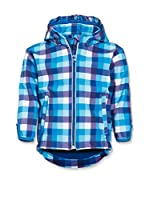 Playshoes Chaqueta Soft Shell Check (Azul)