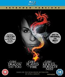 The Girl Who... Millennium Trilogy (Extended Versions) [Blu-ray]