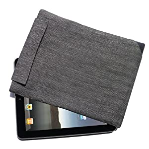 Business Hülle / Tasche für Apple iPad 2, iPad 3 und iPad 4 - Hochformat von Adore June