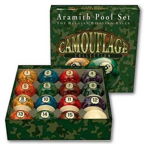 Aramith 2 1 4 Quot Premium Camouflage Belgian Billiard Pool