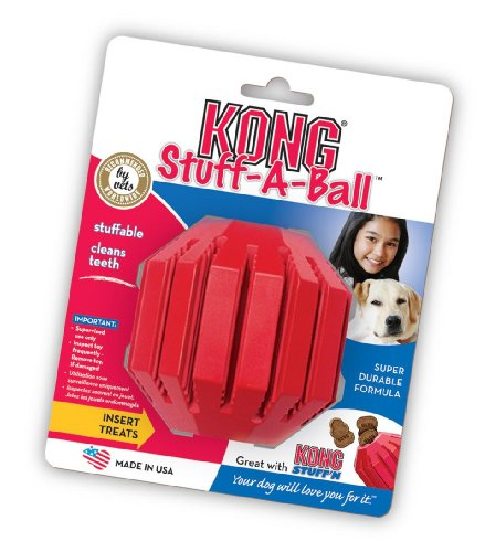 KONG Stuff-A-Ball Dog Toy, Extra Large, Red