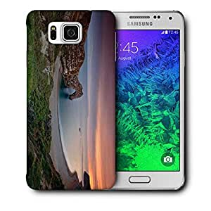 Snoogg Amazing Ocean View Printed Protective Phone Back Case Cover For Samsung Galaxy SAMSUNG GALAXY ALPHA