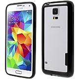 iProtect TPU Bumper Samsung Galaxy S5 Hülle schwarz