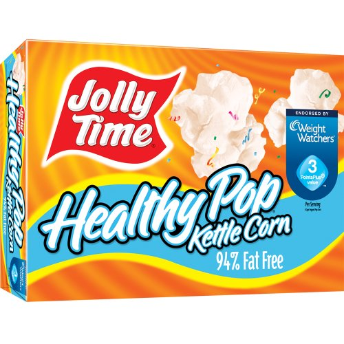 Jolly Time Healthy Pop Kettle Corn 94% Fat Free 6 Pack front-64827