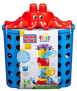 Mega Bloks First Builders Build N Splash Bath Blocks