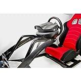 ロッソモデロ (rossomodello) GTD-RSシミュレーター T500RS、G27、ポルコン、CSR 対応 ハンドルコントローラー固定シート GT5 プレステ3
