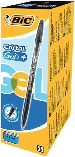 Tiradísimo Paquete de 20 bolígrafos BIC Cristal Gel 843884