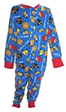 Angry Birds Little Boy's Blue All in One Sleepsuit