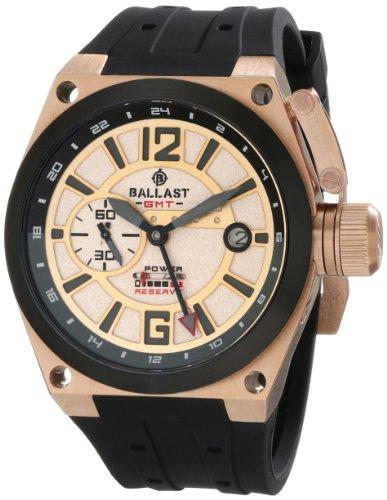 Ballast Men's BL-3119-06 Valiant Analog Display Automatic Self Wind Black Watch