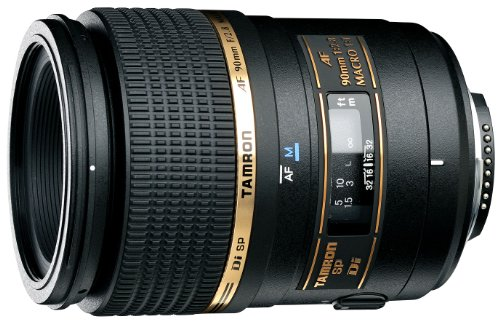 Tamron AF 90mm f/2.8 Di SP A/M 1:1 Macro Lens for Nikon Digital SLR Cameras