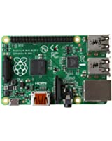 Raspberry Pi Carte Mère Raspberry Pi Type B+ (Processeur 700MHz, 512 Mo de RAM,  4 x USB, 1 x HDMI, 1 x RJ45, 1 x Jack, lecteur de cartes microSD)