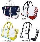ビバハート レディース ボストンバッグ (VIVA HEART Ladeis Boston bag) VHB016 (ホワイト×イエロー)