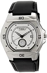 Timex Fashion Analog Silver Dial Mens Watch - EL00