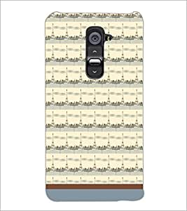 PrintDhaba Tower Pattern D-1789 Back Case Cover for LG G2 (Multi-Coloured)