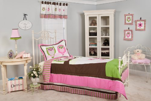 Pam Grace Creations Twin Bedding Set, Sweet Dream Owls Amazon.com