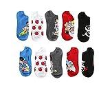 Disney Snow White No-Show Socks 5 Pair