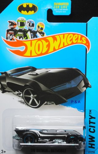 Hot Wheels 2014 The Batman Batmobile 61/250 HW City - 1