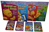 Disney Learning & Activity Books with Flash Cards - Set of 4 each