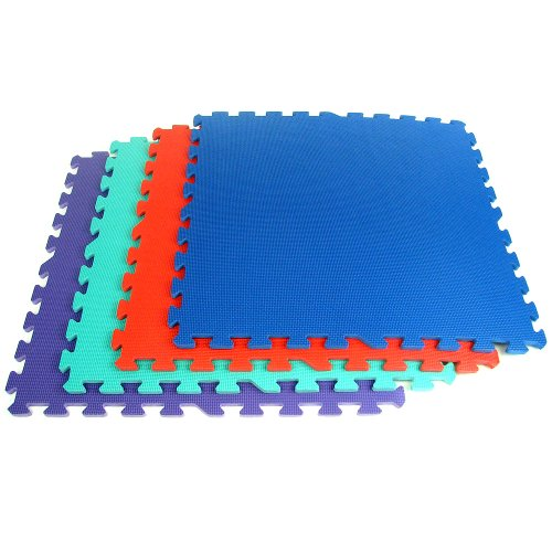 Trademark Tools 75-6400 Hawk Ultimate Comfort Foam Flooring, 16-Square Feet