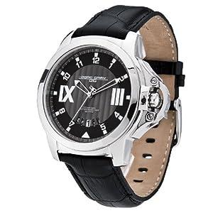 Jorg Gray JG1850-22 - Men's Watch, Date Display, Italian Leather Straps