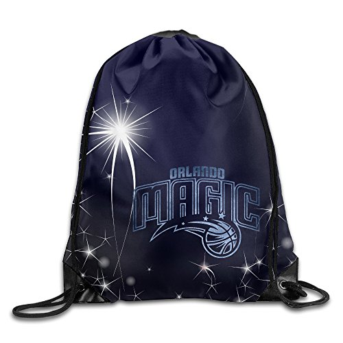 Orlando Magic Black Pond Logo Drawstring Backpack Bag White (Air Jordan Alpha 1 compare prices)