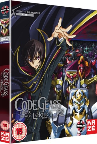 Code Geass: Lelouch Of The Rebellion - Complete Season 2 [DVD] [Reino Unido]