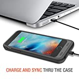 iPhone 6S Battery Case - iPhone 6 Battery Case, Trianium Atomic S iPhone Portable Charger iPhone 6 6S Charging Case[Black]-3100mAh Battery Pack Juice Bank Cover[MFI Apple Certified]