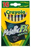 Crayola 16 Count Metallic FX Crayons