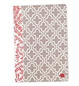 Floral Quatrefoil Fashion Notebook Journal Blank Lined Composition Notebook 7