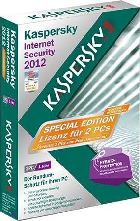 Kaspersky Internet Security 2012 2 User Special Edition