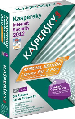 Kaspersky Internet Security 2012 2 User Special Edition