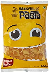 Weikfield Pasta Shell, 200g with Free White Pasta Sauce Mix