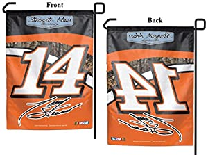 "Tony Stewart 2015 NASCAR 11"" x 15"" Garden Flag by Wincraft, #15241015 (Pole not included)"