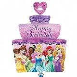 Disney Princess Birthday Cake Balloon Supershape Helium Foil Anagram Balloons