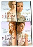 Lesley Pearse Lesley Pearse Collection 4 Books Set Pack New RRP: £39.95 (Georgia, Camellia, Charity, Tara)